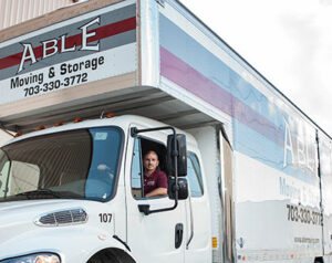 Able Moving & Storage driver