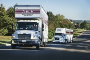 Able Moving & Storage Trucks