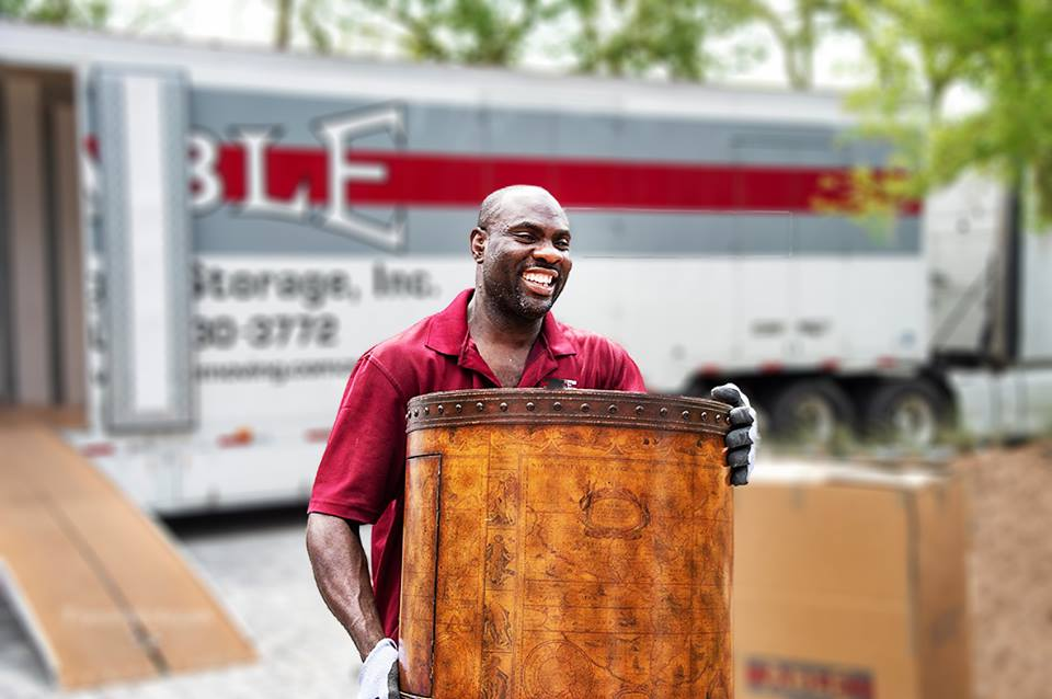 Able Moving & Storage Team Member