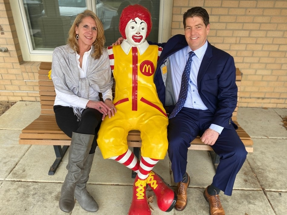 Able Moving & Storage and Ronald McDonald