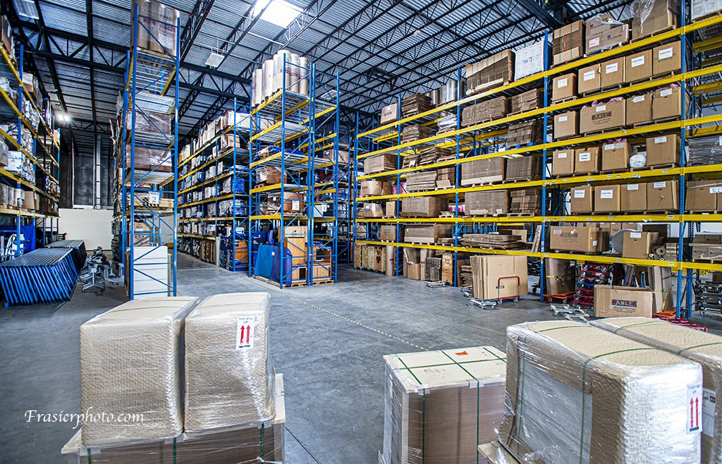 Commercial Moving Warehouse