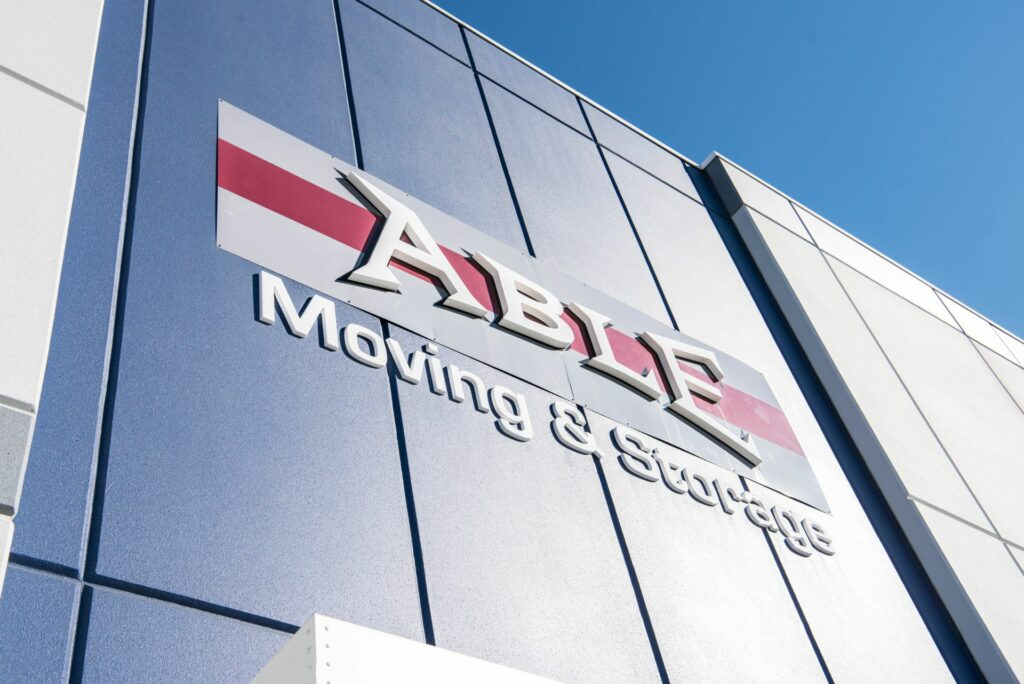 Able Moving & Storage Building