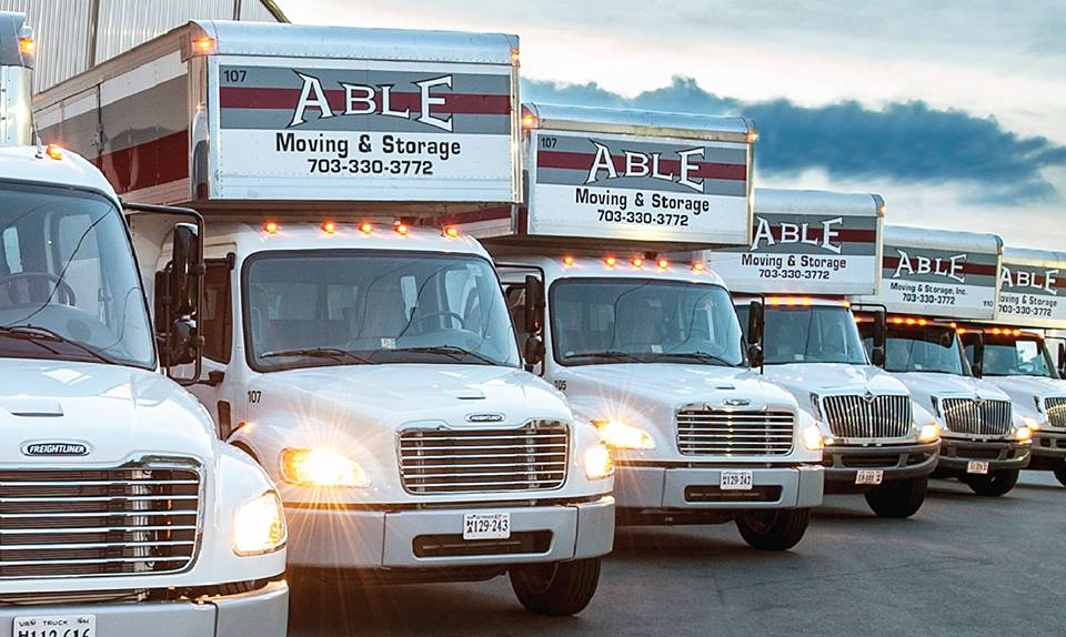 Professional corporate movers moving commercial office in Arlington VA