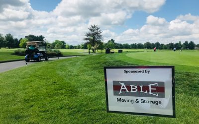 Able Goes Golfing for Charity!